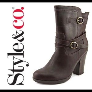 Style & Co. Ameliya Boots 👢 Great for Fall 🍂🍃🍂